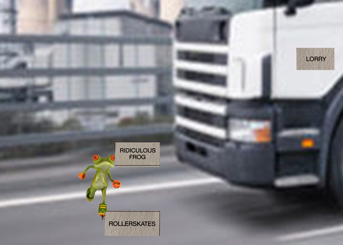Frog Lorry Skates